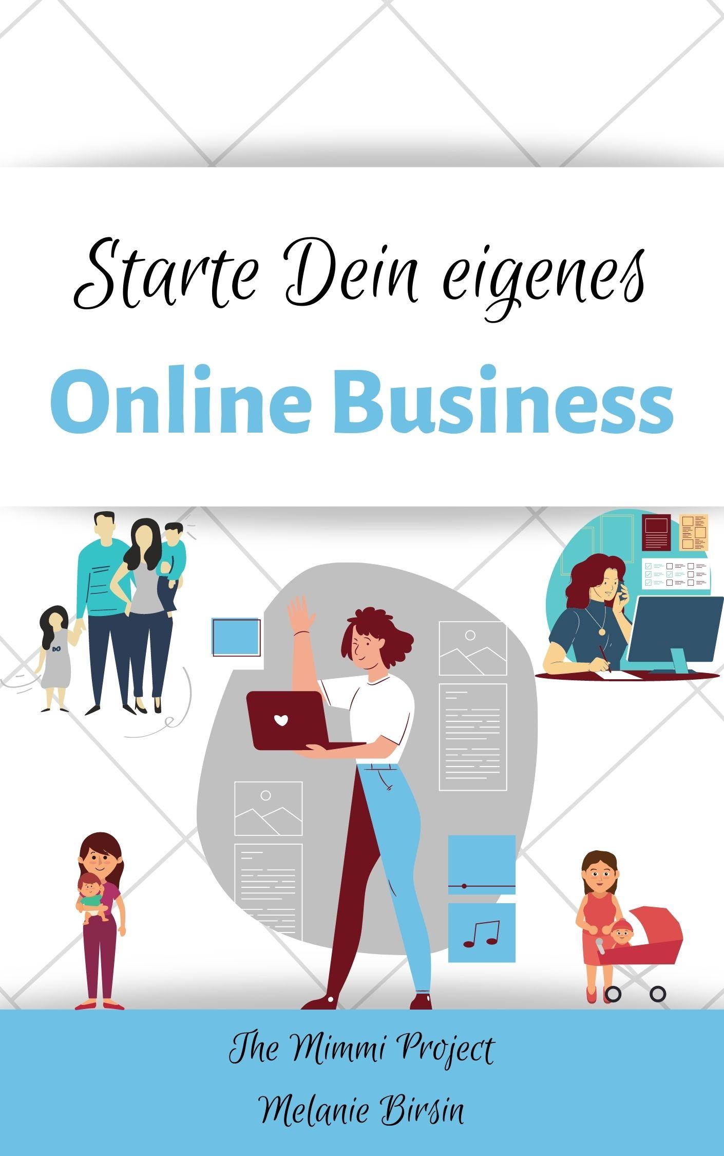 Starte Dein eigenes Online Business Cover