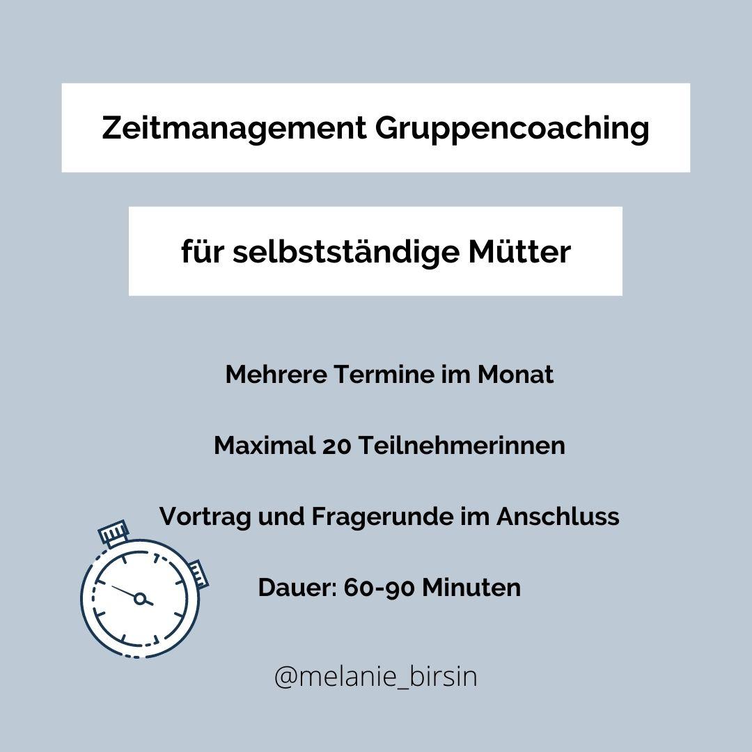 Gruppencoaching-Zeitmanagement-fuer-selbststaendige-Muetter